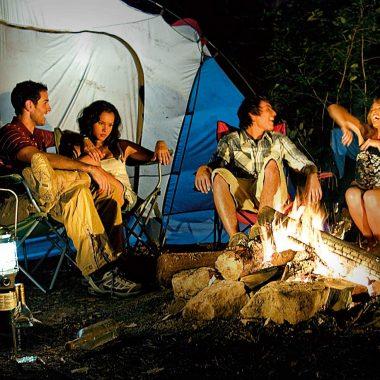 Camping ή ξενοδοχείο;