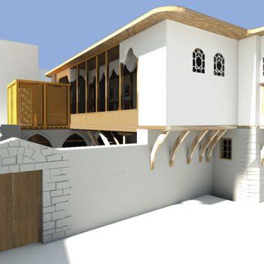 Η μελέτη αποκατάστασης της οικίας της οδού Παίδων
